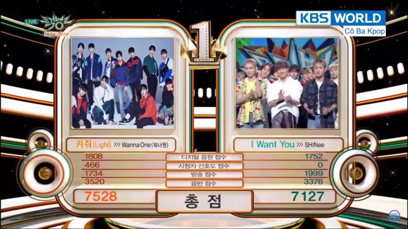 180622 Седьмая победа с песней '켜줘 (Light)' на Music Bank