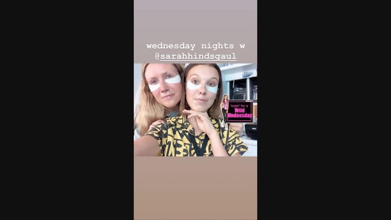 Millie Bobby Brown InstaStory Video 19.10.2018