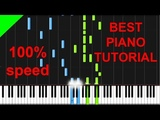 Charlie Puth - We Don't Talk Anymore Piano Tutorial