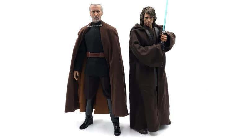 [Justin's Collection Eng] review Hot Toys MMS496: Star Wars Episode II Attack of the Clones - Count Dooku 1/6