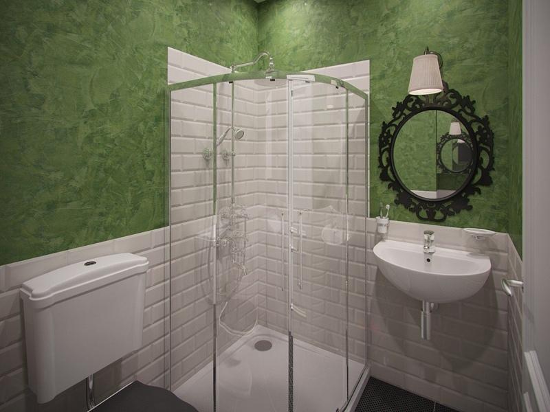 Дизайн-проект маленькой квартиры-студии 20 м от застройщика ЖК НовоМарусино, Новосибирск.