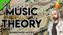 Music Theory For Producers Borrowed Notes Chromatic Mediant and Secondary Dominant FL Studio