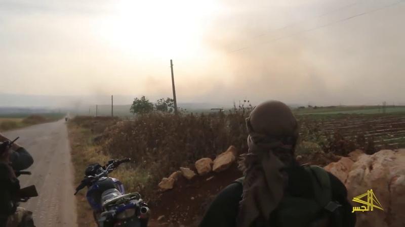 Орды смертников танки и БМП банды Идлиба начали наступление их перемалывает огонь ВКС и САА
