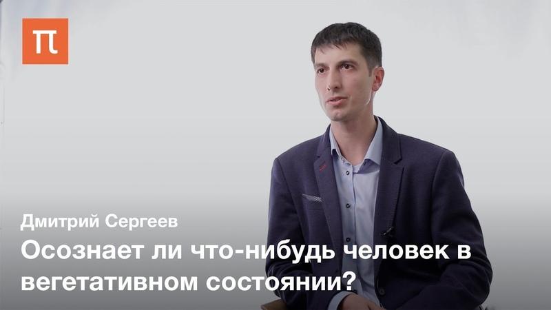 Диагностика хронических нарушений сознания Дмитрий Сергеев