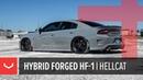 Dodge Charger SRT Hellcat Vossen Hybrid Forged HF-1 Wheels