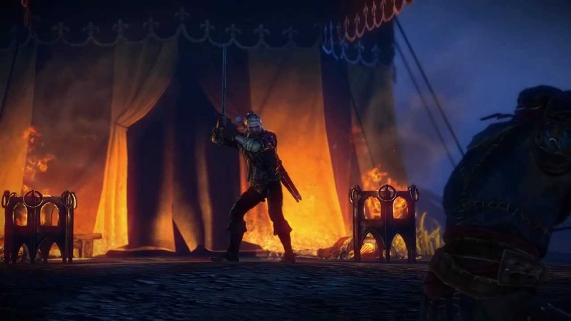The Witcher 2 Enhanced Edition New Elements Trailer