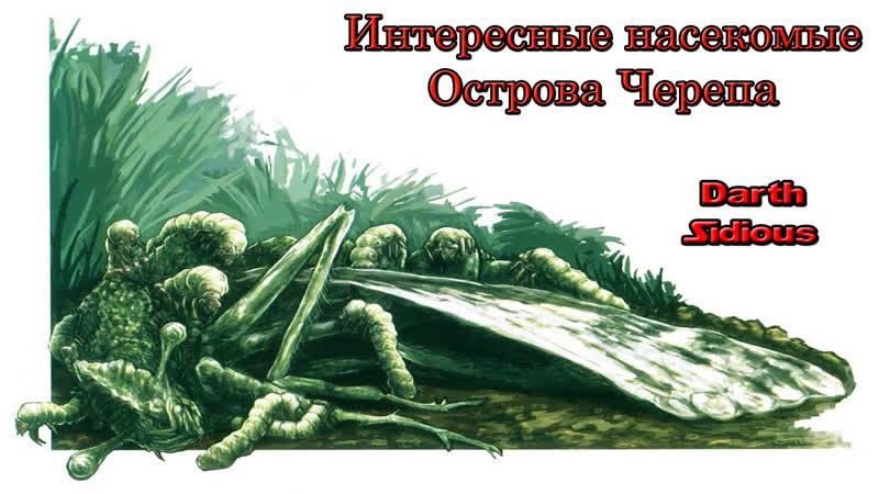 Жизнь Острова Черепа (The Life of Skull Island) - Интересные насекомые