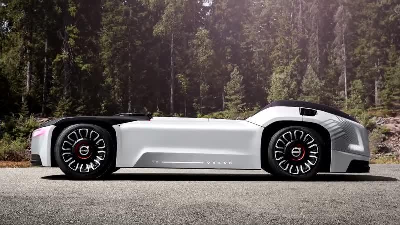Volvo представила автономный грузовик без кабины.