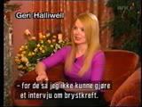 Geri Halliwell - Interview In Milan 15.04.1999