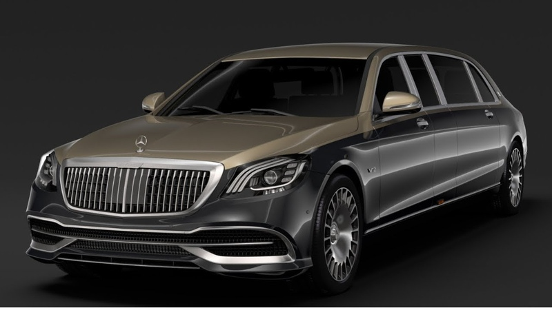 2019 Mercedes Maybach S600 Pullman Review