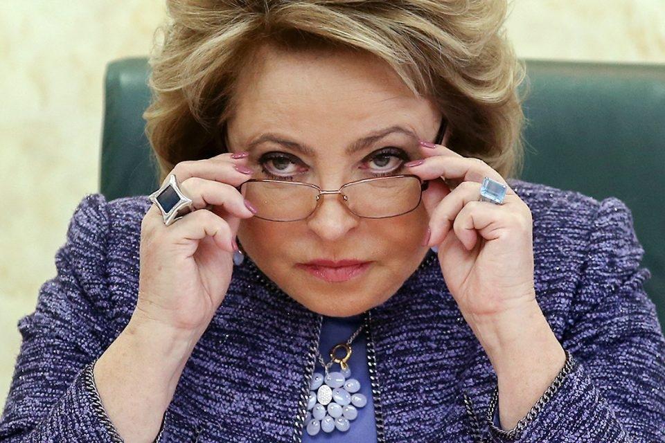 Матвиенко приняла решение стать наставником в конкурсе «Лидеры России».