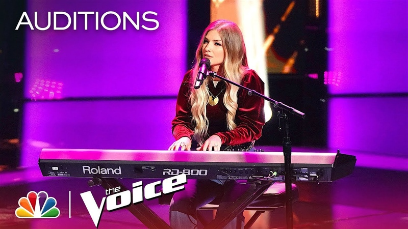 Katrina Cain Wows Blake with Fleetwood Macs Rhiannon Cover - The Voice 2018 Blind Auditions