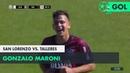 Gonzalo Maroni (0-1) San Lorenzo vs Talleres   Fecha 11 - Superliga Argentina 2018/2019