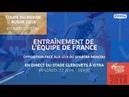 Équipe de France lopposition face aux U19 du Spartak Moscou, le replay