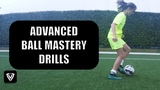 4 ADVANCED BALL MASTERY DRILLS FOOTBALL HOMEWORK - VOETBALHUISWERK Thomas Vlaminck Techniektraining