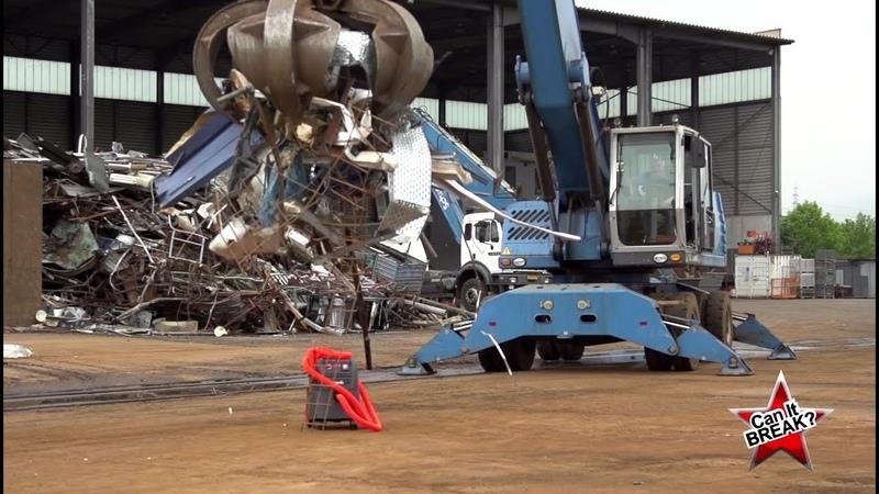 Can it break Se hvor meget en Starmix støvsuger kan holde til