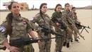Syrische Frauen verteidigen Heimat gegen ISIS ►Syrische Männer desertierten nach Europa