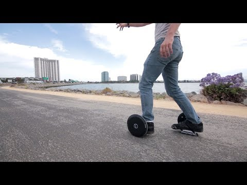 2017 Fun, Fast, Foldable, Futuristic Electric Skates - Blizwheel