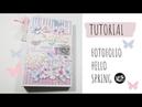 Tutorial Scrapbooking. Cómo crear un Fotofolio. Kora Projects.