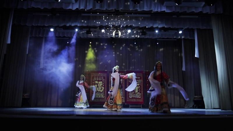 Навстречу солнцу Китайское танцевальное шоу