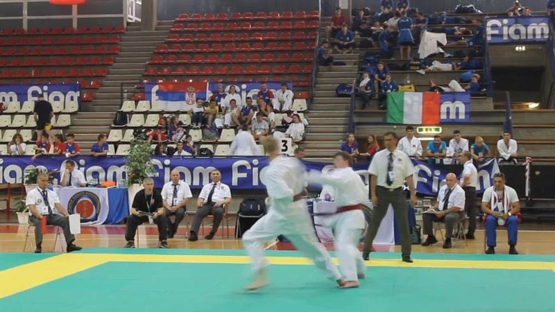 Чемпионат Мира в Италии по каратэ WKC