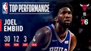 Joel Embiid Drops 30 Pts and 12 Rebs Vs Chicago Bulls | October 18, 2018 NBANews NBA 76ers JoelEmbiid