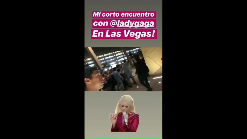 Леди Гага на боксерском поединке в арене «T-Mobile», Лас-Вегас (15.09.2018)