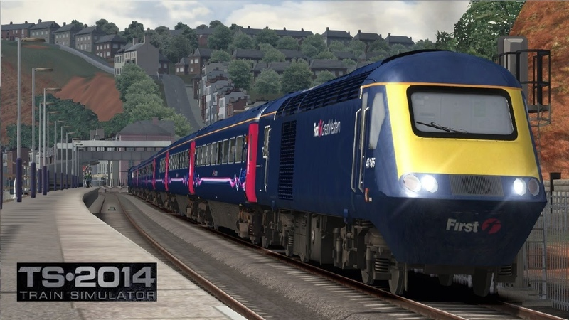 Train Simulator 2014 The Riviera Line Exeter Paignton Route Timelapse Full Length Full 1080P HD