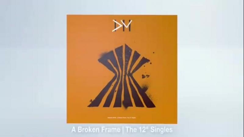 Depeche Mode The 12 songles box set 2018. www.depmode.com