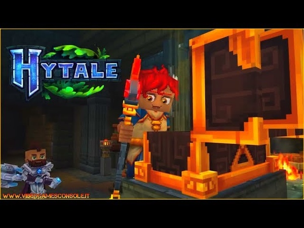 HYTALE Beta Trailer gameplay A new Minecraft clone game Anteprima Announce