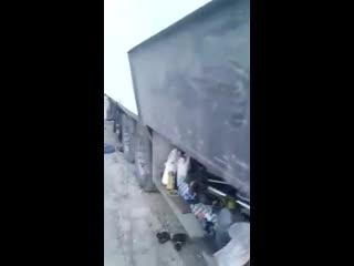 Нагло грабят дальнобойщиков