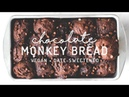 Chocolate Monkey Bread vegan grain free date sweetened