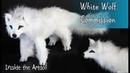 White Wolf Commission - Artdoll