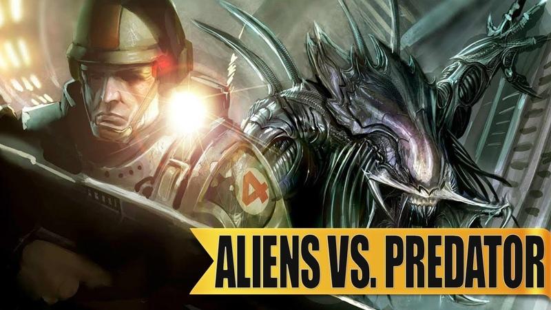 Aliens vs Predator 2010 - {Часть 3} - ФИНАЛ - Он не Человек