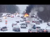 Car vs Snow Compilation of Ridiculous Car Crash and Slip 2018 Car Slide Winter Weather