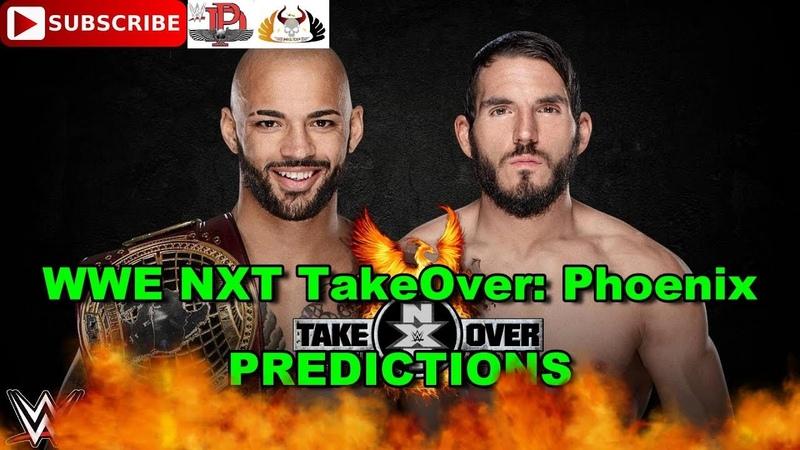 WWE NXT TakeOver Phoenix North American Championship Ricochet vs Johnny Gargano Predictions WWE 2K19