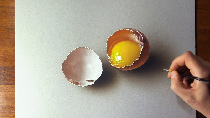 Drawing vs real Egg which is the Best