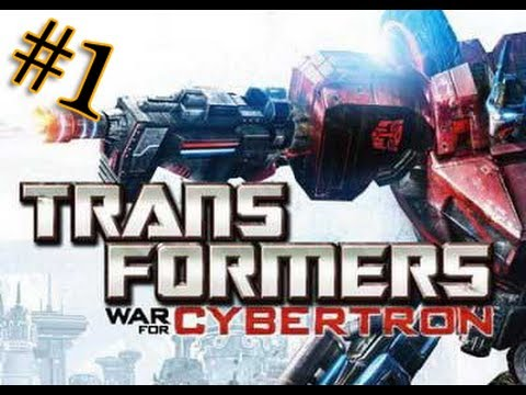 Let's play Трансформеры Битва за Кибертрон 1 серия
