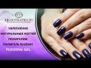 Укрепление натуральных ногтей полигелем. Полигель BLUESKY, PUDDING GEL.