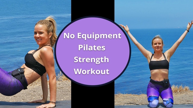 Pilates Strength Workout No Equipment Home Pilates Exercises