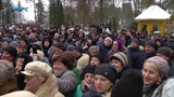 Святе гршне парад лицемрства брехн Томос-тур Президента у Здолбунов