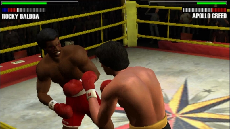 Прохождение Рокки Бальбоа (Рокки II матч реванш против Аполло Крида)