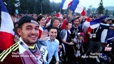 #France is #Celebrating The #WorldCup #FINAL 2018 #Victory in #Russia
