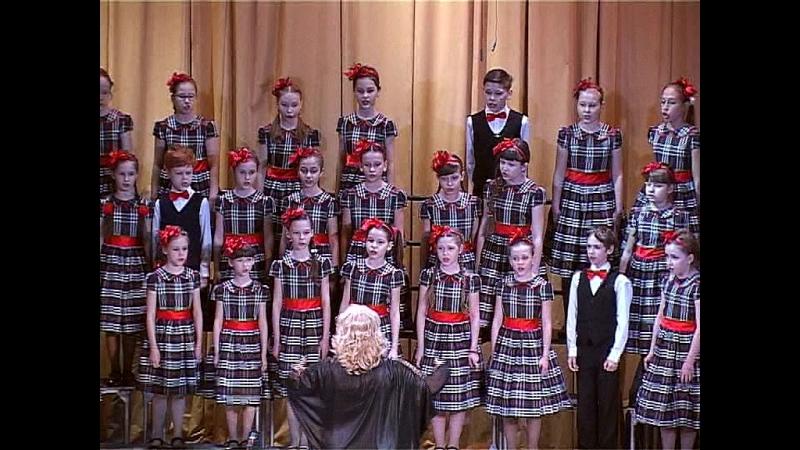 Младший хор хорового отделения Рук Тихомирова Л А Конц Сахарюк М А
