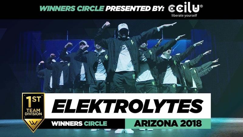 Elektrolytes   1st Place Team Division   Winners Circle   World of Dance Arizona 2018   WODAZ18