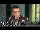 Asa Butterfield On Miss Peregrine's Home for Peculiar Children BUILD Series