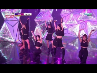 [Comeback Stage] 180711 A Pink (에이핑크) - Alright + I'm So Sick (1도 없어)