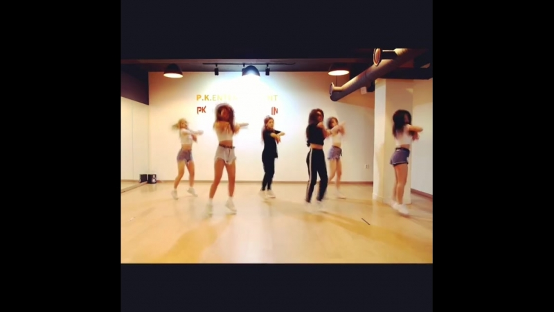 MUSKY 머스키 CRAZY IN LOVE Dance practice видео_