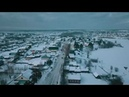 Кичменгский Городок с востока на запад