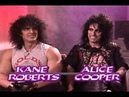 Erica Ehm Interviews Alice Cooper Kane Roberts February 2nd 1988 ☆★☆★☆